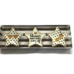 Other - Star Jewelry Trays cute delicate dishes small